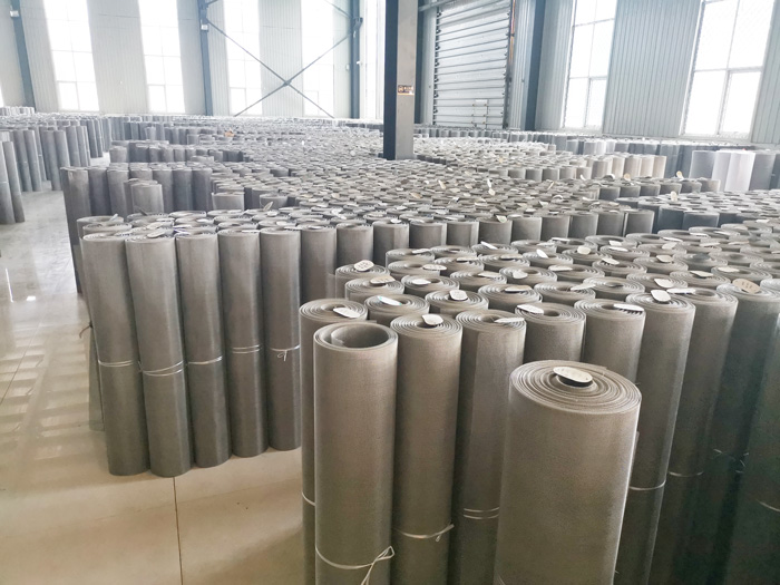 20ft Container Stainless Steel Wire Mesh delivered