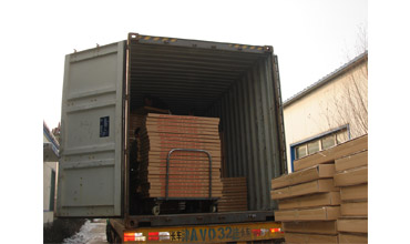1950 Panels of Shaker Screen Delivered by 40ft Container.